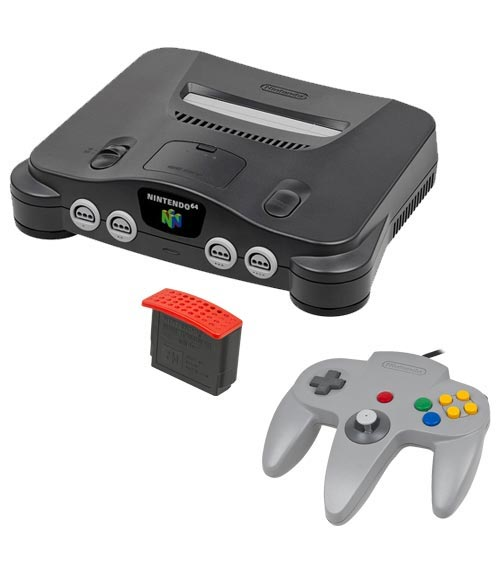 Nintendo 64 System with 4MB Expansion Pack Trade-in