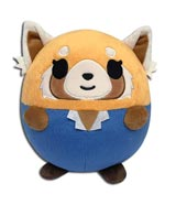 Aggretsuko Retsuko Happy 8 Inch Ball Plush