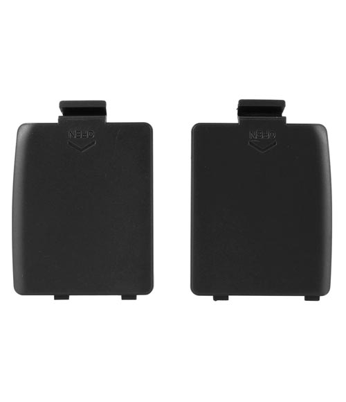 Game Gear Replacement Battery Cover 2 Pack Black