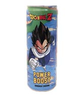 Dragon Ball Z Vegeta Power Boost Energy Drink