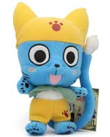 Fairy Tail Happy Yellow Outfit 10 Inch Plush