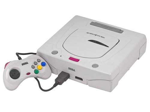 Sega Saturn White System