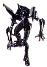 Neon Genesis Evangelion Unit-03 Black Action Figure