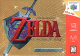Legend of Zelda: Ocarina of Time Gold Collector's Edition