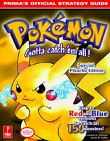 Pokemon Yellow Special Pikachu Edition Official Strategy Guide