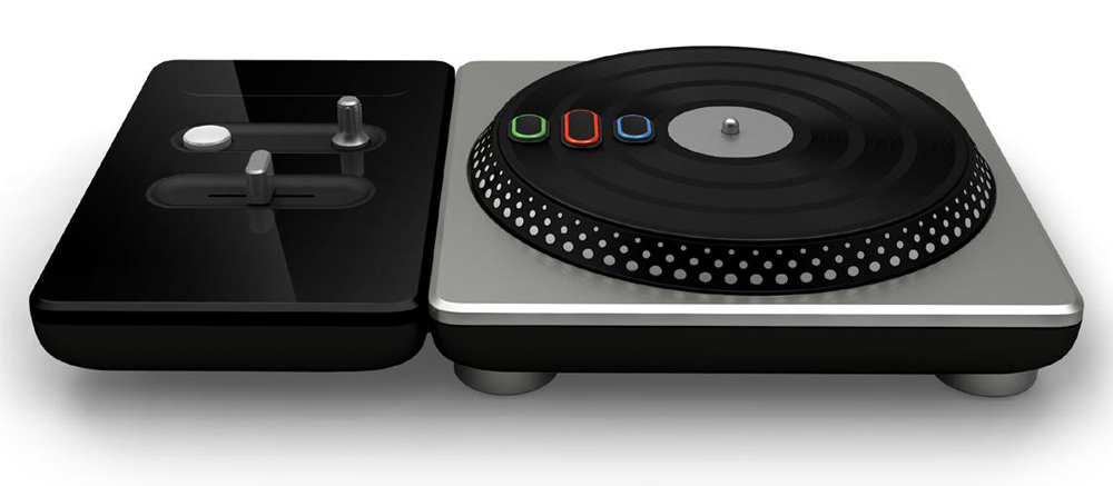 DJ Hero Turntable for PS3 & PS2