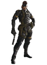 Metal Gear Solid: Peace Walker Play Arts Kai Snake Sneaking Suit Action Figure