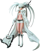 Black Rock Shooter (White Version) Real Action Hero Figure
