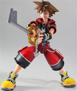 Kingdom Hearts 3D Play Arts Kai Sora Action Figure