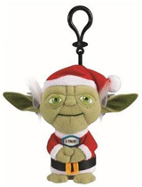 Star Wars Mini Santa Yoda Talking 4