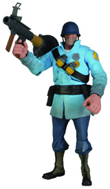 Team Fortress 2 Series 2 Blu Soldier Action Figure