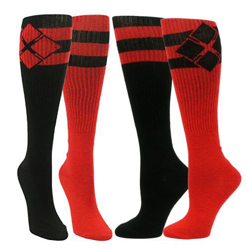 Batman: Harley Quinn Athletic Knee Socks