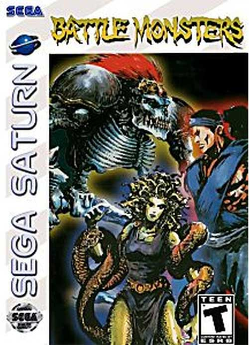 Battle Monsters (Instruction Manual)