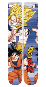 Dragon Ball Z Super Saiyan Crew Socks