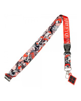 DC Comics Harley Quinn Comic Lanyard With Charm