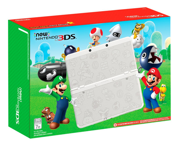 New Nintendo 3DS Super Mario White Edition