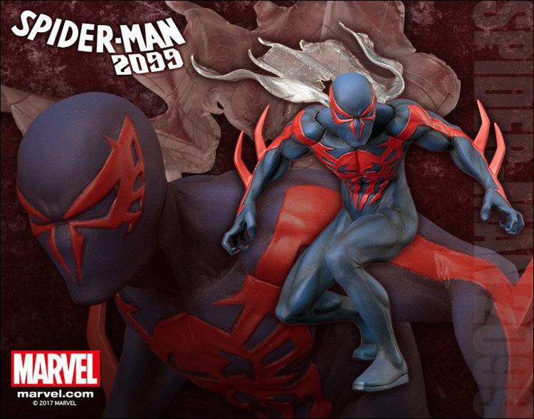 Marevl Now Spiderman 2099 ArtFX+ Statue
