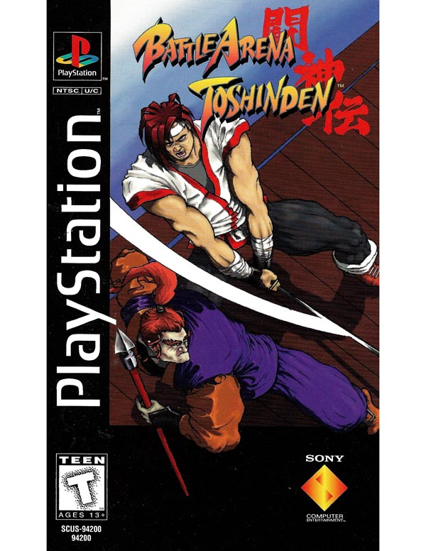 Battle Arena Toshinden Long Box Version
