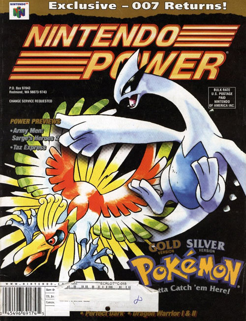 Nintendo Power Volume 136 Pokemon Gold & Silver