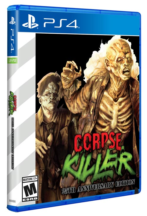 PS4 Corpse Killer Limited Run alternate cover