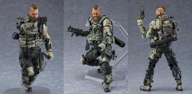 Call of Duty Black Ops 4 Ruin Figma AF extra poses