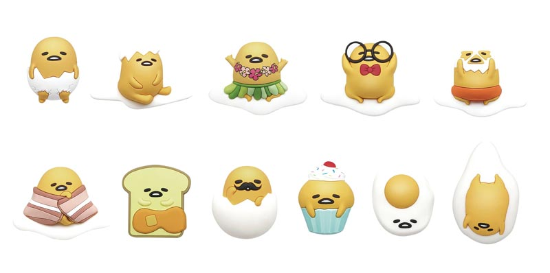 Sanrio Gudetama 3D Foam Bag Clips BMB all items
