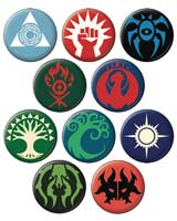 Magic The Gathering Guilds Button