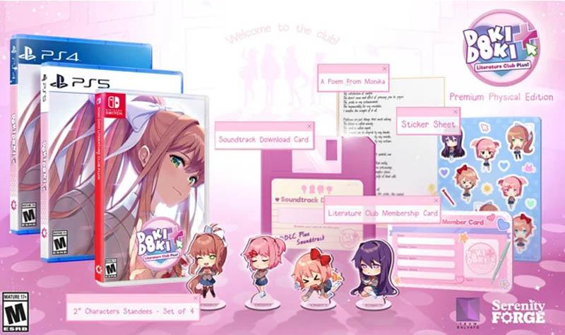 Doki Doki Literature Club Plus Premium Edition Contents