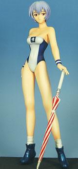 Neon Genesis Evangelion: Rei Ayanami Race Queen PVC Statue