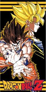 Dragon Ball Z Goku Towel