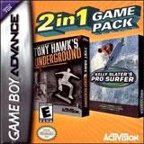 Tony Hawk's Underground and Kelly Slater's Pro Surfer Combo Pack