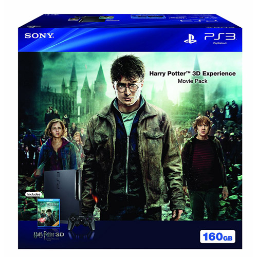 Sony PlayStation 3 Slim 160GB Harry Potter 3D Experience