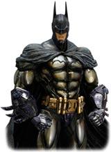 Batman Arkham Asylum Play Arts Kai Armored Batman Figure