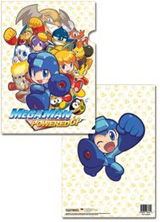Mega Man Powered Up Group File Folder (Pack of 5)