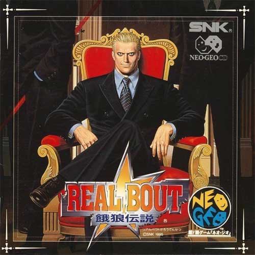 Real Bout Fatal Fury Neo Geo CD