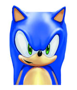 Sonic the Hedgehog Molded Head Character Mug