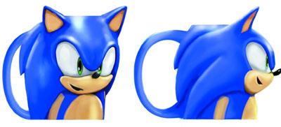 Sonic Head Mug
