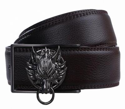 Final Fantasy Advent Children Cloud Symbol Fenrir Leather Belt