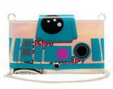 Star Wars R2-D2 Clear Envelope Clutch