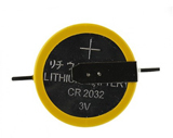 CR2032 3V Lithimum Battery W/Tabs 10 Pack