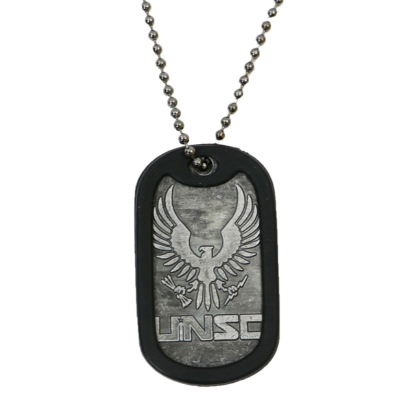 Halo 5 UNSC Printed Dog Tag