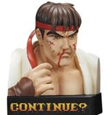 Street Fighter II Losing Face Figures
