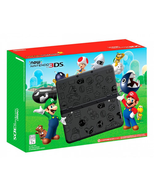 New Nintendo 3DS Super Mario Black Edition