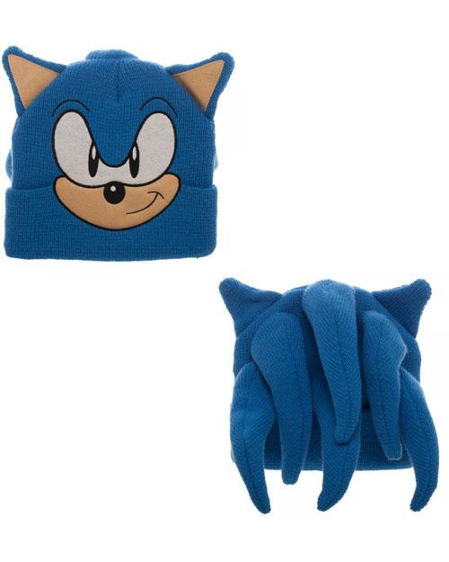 Sonic the Hedgehog Cosplay Beanie
