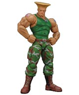 Street Fighter: Guile Storm Collectibles Action Figure