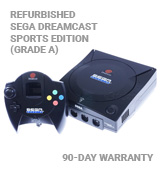 Sega Dreamcast Black Sega Sports Edition System - Refurbished