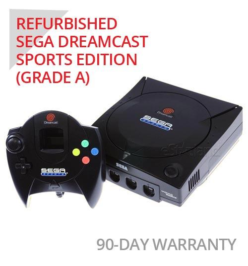 Sega Dreamcast Sports Limited Edition System with Black Controller - Refurbished