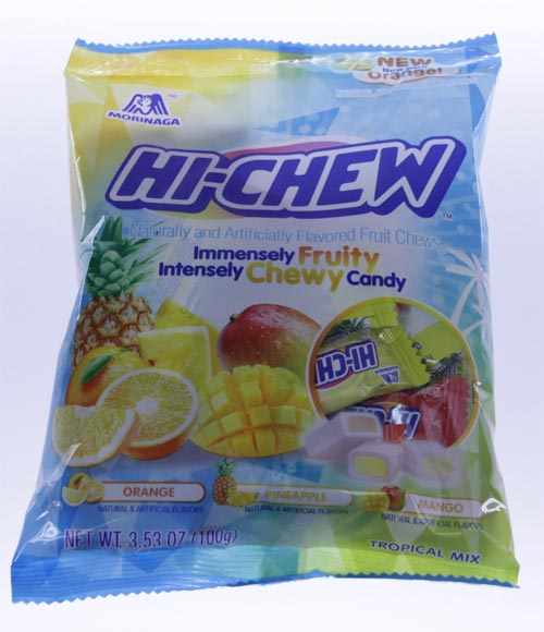 Hi-Chew Tropical Mix - Orange, Pineapple, Mango 3.53 oz