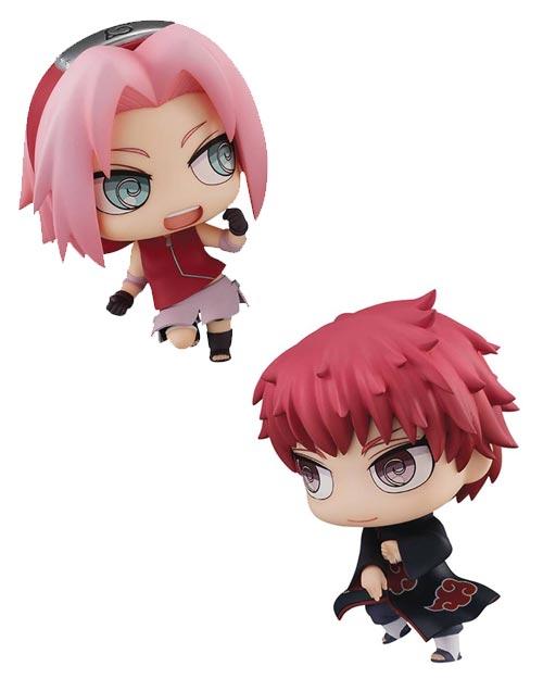 Naruto: Sakura & Sasori Chimimega Buddy Series 2 Piece Set