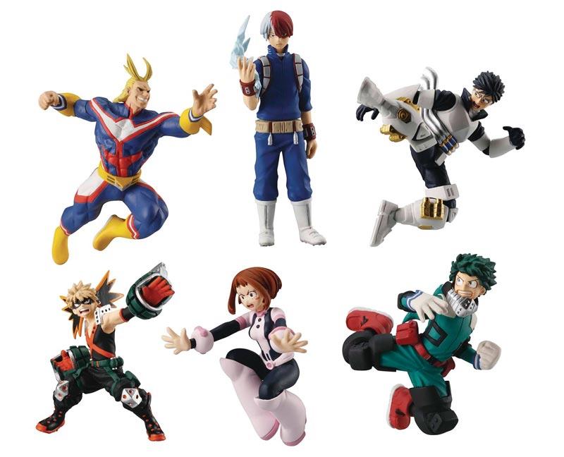 My Hero Academia Mini Figs BMB all figurines